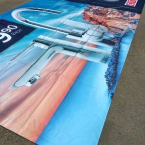 24hr Faceprint PVC Banners